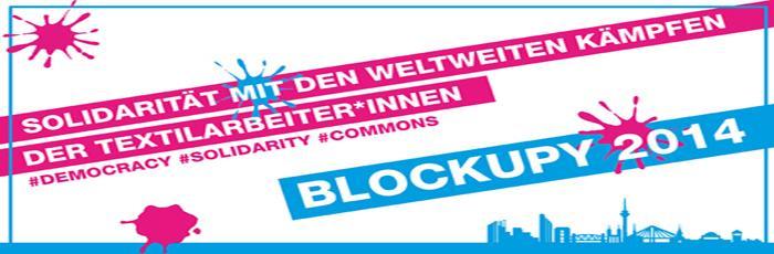 BLOCKUPY goes Königsallee