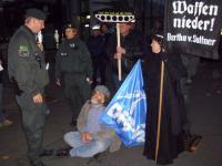 Blockade der Rüstungsfirma Rheinmetall  5